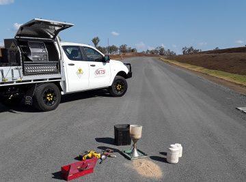 foam bitumen testing