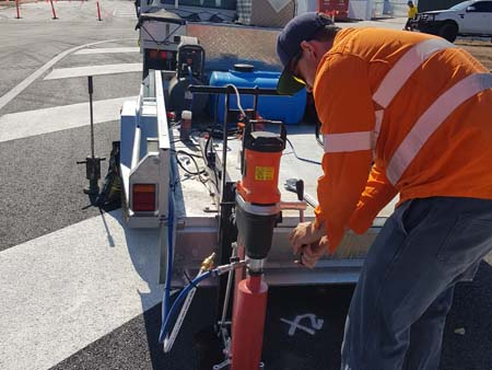 asphalt bitumen core testing